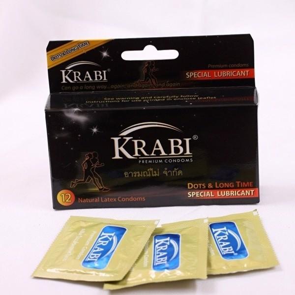 Bao Cao Su Krabi là thương hiệu bao cao su chất lượng đến từ Thái Lan