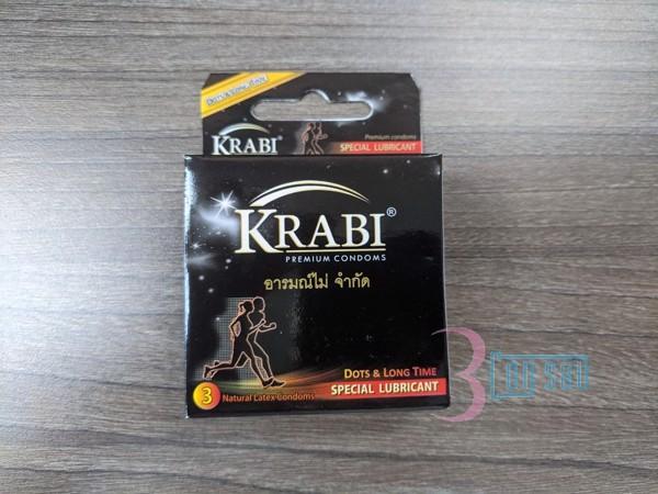 Hộp 3 BCS Krabi có gai và kéo dài thời gian Dots and Longtime Krabi  Đặc biệt hơn, dung dịch Benzocaine 5% bao phủ bề mặt bao cao su Krabi sẽ giúp cải thiện chất lượng cuộc vui, kéo dài thời gian quan hệ. Với Hộp 3 BCS Krabi có gai và kéo dài thời gian Dots and Longtime Krabi, các cặp đôi sẽ không còn cảm giác hụt hẫng, chới với hay thất vọng mà tất cả sẽ chỉ còn là hưng phấn và thoả mãn. Ngăn ngừa có thai ngoài ý muốn Bao cao su Krabi có gai và kéo dài thời gian Dots and Longtime Krabi Premium Condoms là một trong những biện pháp giúp bạn ngăn ngừa có thai ngoài ý muốn. Tránh lây nhiễm bệnh Sử dụng bao cao su Krabi giúp bạn tránh lấy nhiễm HIVAIDS và các bệnh lây truyền qua đường tình dục. Hướng dẫn sử dụng bao cao su Krabi đúng cách  Ưu điểm nổi bật của Hộp 3 BCS Krabi có gai và kéo dài thời gian Dots and Longtime Krabi Gel bôi trơn cao cấp Tác dụng của bao cao su Krabi Gia tăng khoái cảm Sử dụng bao cao su chất lượng Krabi có gai và kéo dài thời gian làm tăng độ ma sát, giúp kích thích và tăng khoái cảm đặc biệt cho cả bạn và người ấy.  Condoms là sản phẩm cao cấp có xuất xứ tại Thái Lan. Bao cao su chất lượng này được thiết kế với các nốt gai phủ đều toàn thân bao, kết hợp với dung dịch kéo dài thời gian, cho cuộc yêu thêm phần nồng nhiệt và dài lâu. Các gai nổi quanh thân bao có tác dụng làm tăng độ ma sát, tạo cảm giác tươi mới cho cả chàng và nàng. Sản phẩm mỏng tạo sự chân thực, cho các cặp đôi hoàn toàn chìm đắm trong cảm giác hưng phấn đầy đê mê, kéo dài khoái cảm.