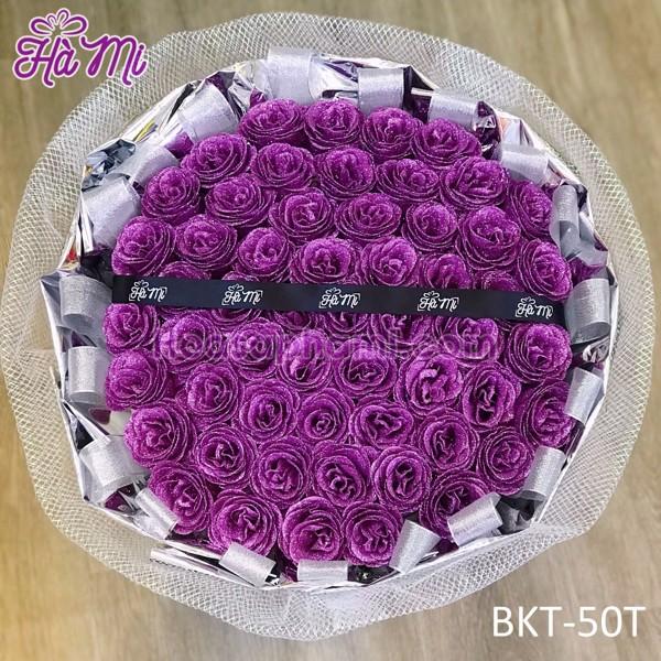 bó hoa kim tuyến 50 bông cao cấp