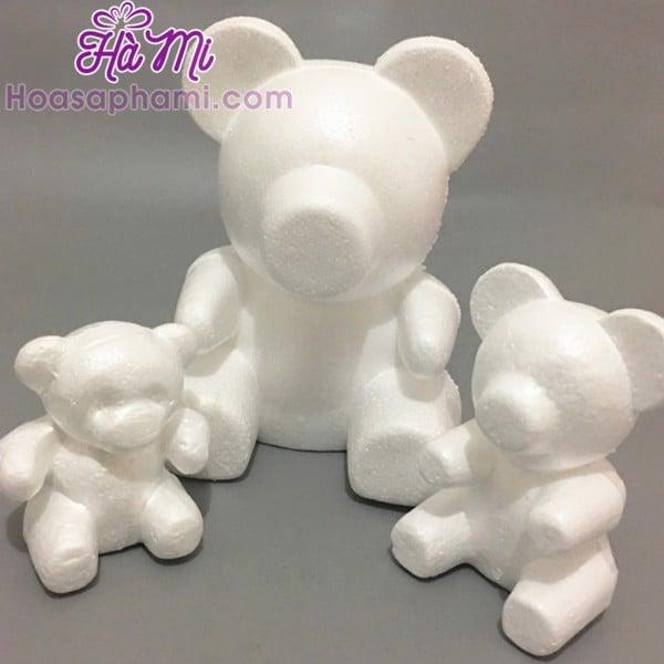 Phôi Gấu Hoa Hồng