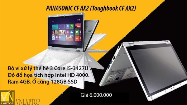 PANASONIC Toughbook CF AX2.