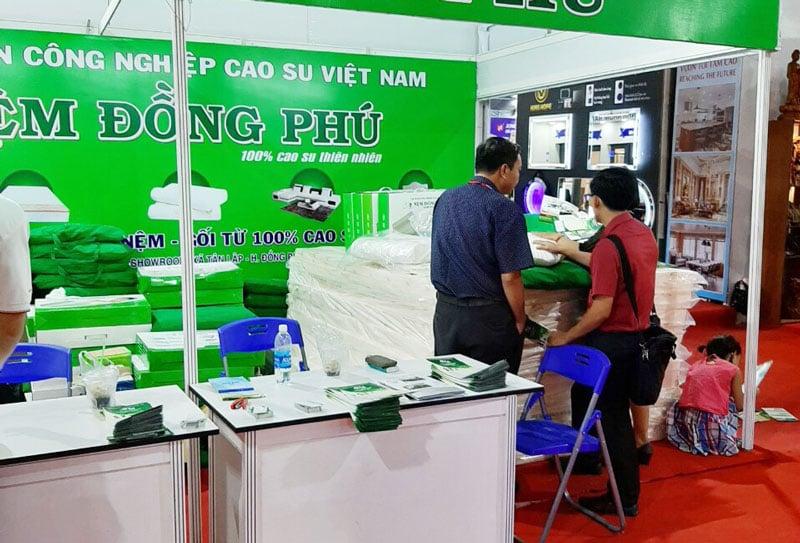 Nệm Đồng Phú tại Vietbuild 2019