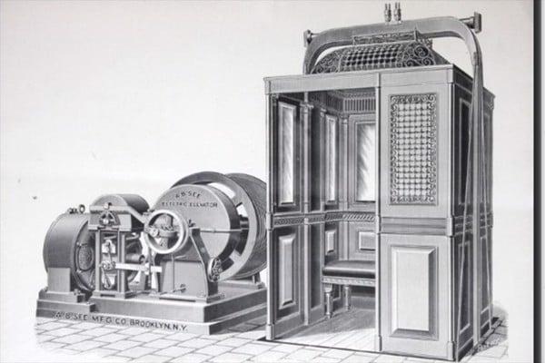 lịch sử thang máy