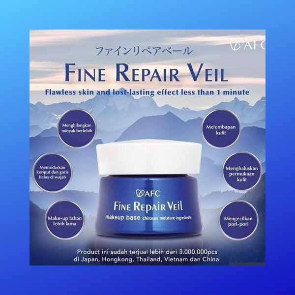 Kem dưỡng da ban ngày AFC Fine Repair Veil Nhật Bản