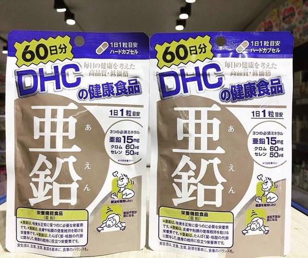 Viên uống DHC Nhật Bản bổ sung kẽm cho cơ thể