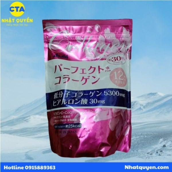 Bột Collagen Asahi Nhật Bản giúp đẹp da, chống lão hoá