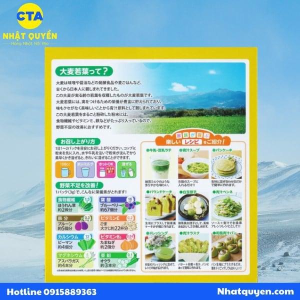 Bột mầm lúa mạch Barley Golden Nhật Bản