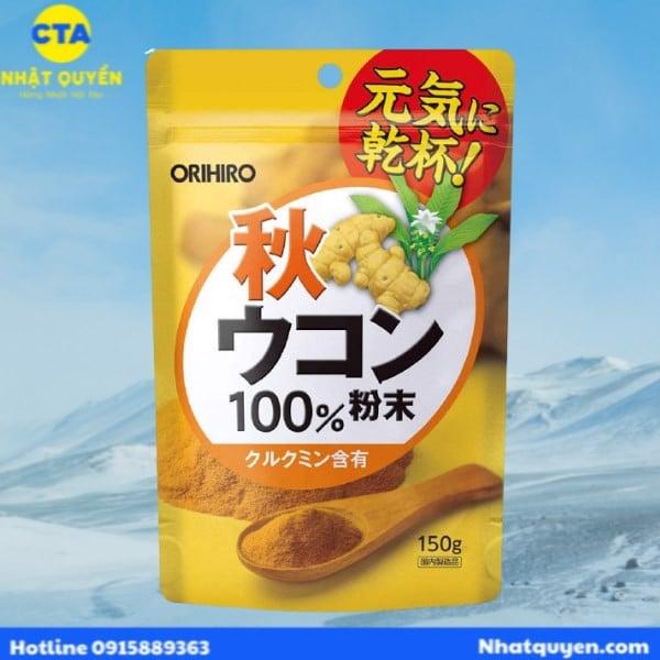 bột nghệ bổ gan Orihiro