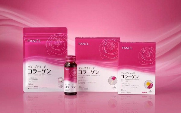 Viên collagen Fancl HTC Deep Charge
