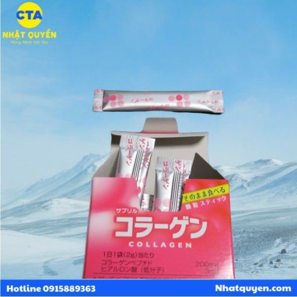 Collagen ITOH Sapril dạng bột hộp 30 gói