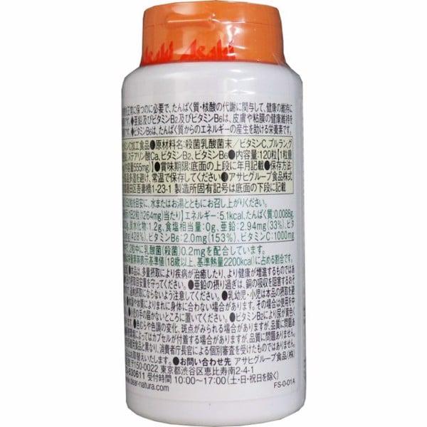 Viên uống bổ sung  vitamin C, kẽm, lợi khuẩn và vitamin B tổng hợp Asahi