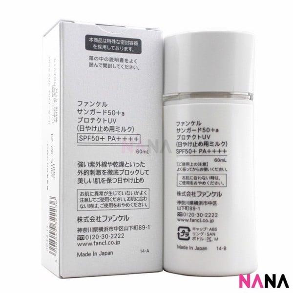 Kem chống nắng Fancl Nhật Bản SPF50 + PA ++++