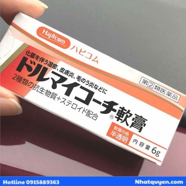 Kem bôi đặc trị vẩy nến Dormycin Zeria Nhật Bản