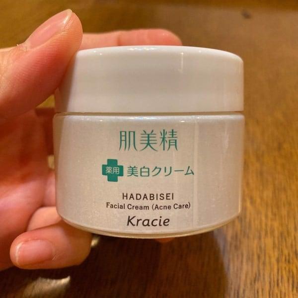 Kem Dưỡng Da Mụn Kracie Hadabisei Facial Cream