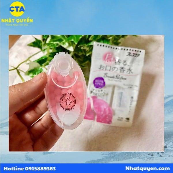 Kẹo thơm cơ thể Breath parfum Kobayashi Nhật Bản