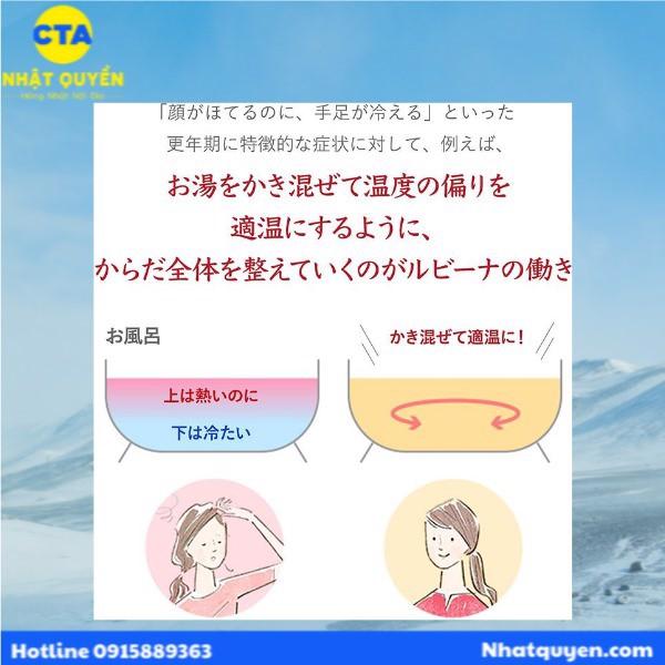 Thuốc bổ máu Rubina Nhật Bản