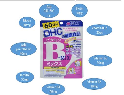 viên uống bổ sung vitamin B Mix