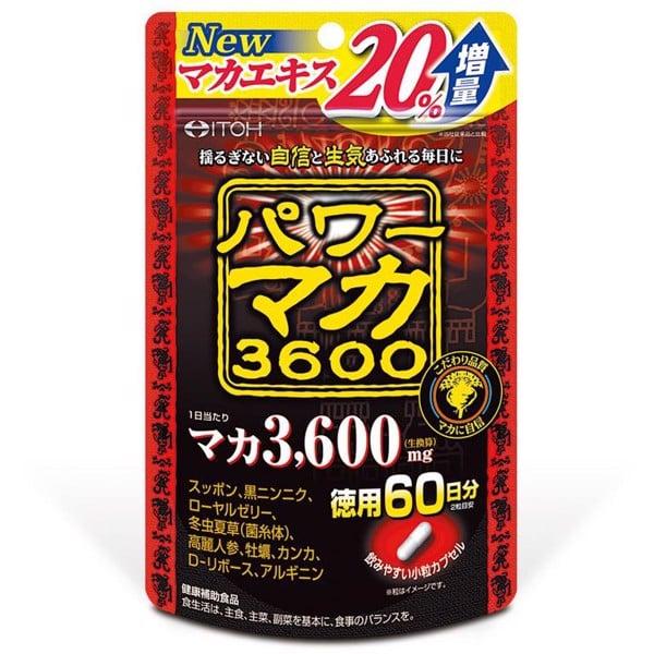 Maka Power ITOH 3600 gói 120 viên tăng cường sinh lý nam giới