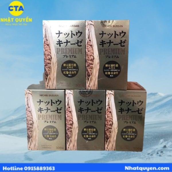 Nattokinase Premium Nichiei Bussan 10.000FU