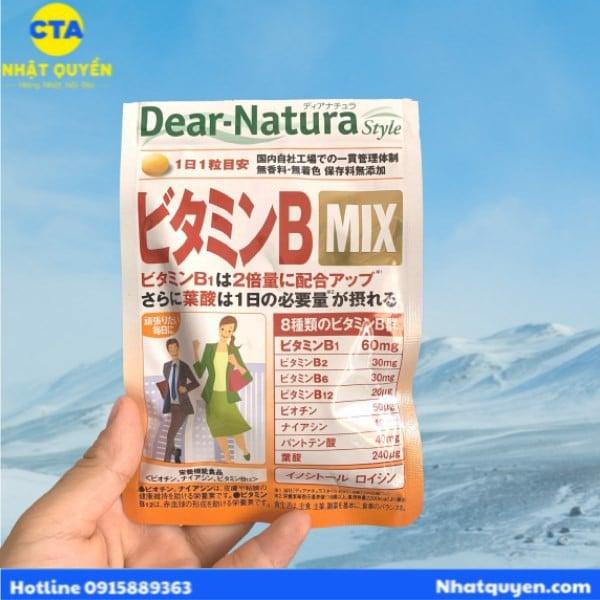 vien uong vitamin b mix