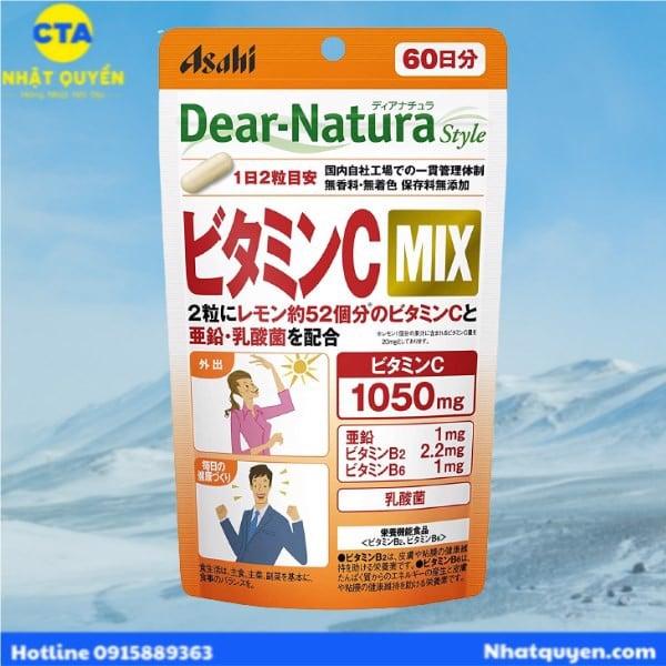 vitamin c mix dear natura