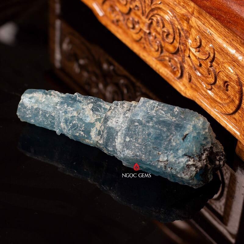 Đá Aquamarine được ưa chuộng nhất có màu xanh dương
