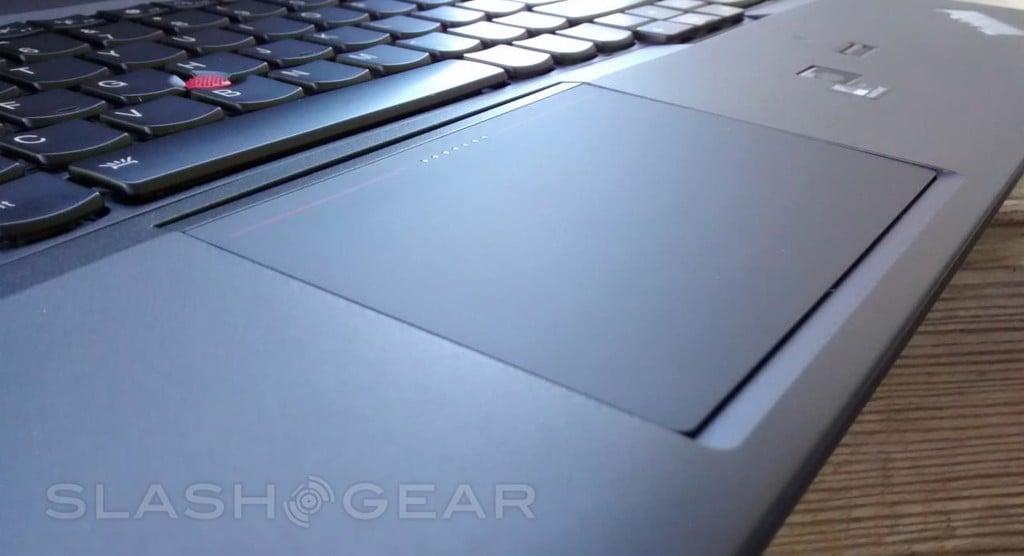 đánh giá bàn phím và touchpad thinkpad w540