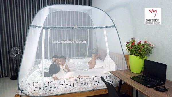 Những mẫu mùng tuyệt đẹp cho khách sạn tại mùng Mộc Miên