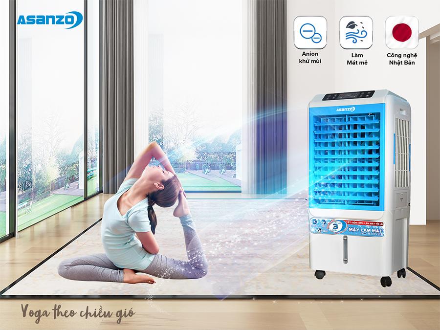 Smartphonestore.vn - Bán lẻ giá sỉ, online giá tốt máy quạt điều hòa làm mát không khí Asanzo A6000 chính hãng - 09175.09195