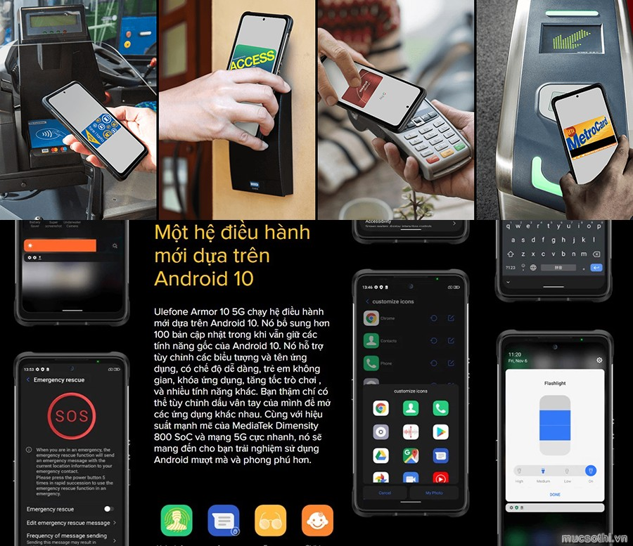 smartphonestore.vn - bán lẻ giá sỉ, online giá tốt smartphone siêu bền 5G ulefone armor 10 chính hãng - 09175.09195