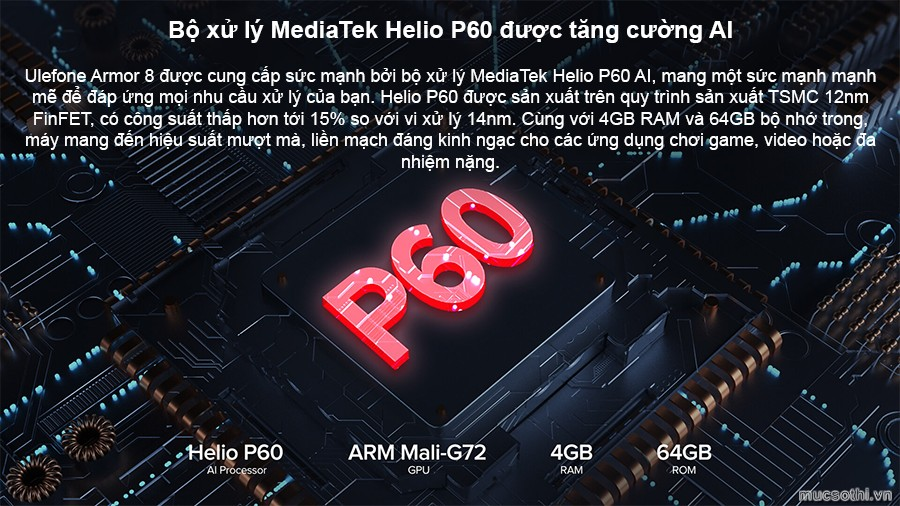 Smartphonestore.vn - Bán lẻ giá sỉ, online giá tốt smartphone siêu bền ulefone armor 8 chính hãng - 09175.09195