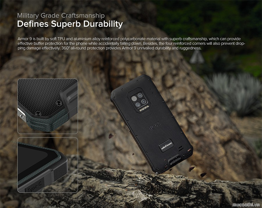 SmartPhoneStore.vn – Bán lẻ giá sỉ, online giá tốt smartphone ulefone armor 9 chính hãng – 09175.09195