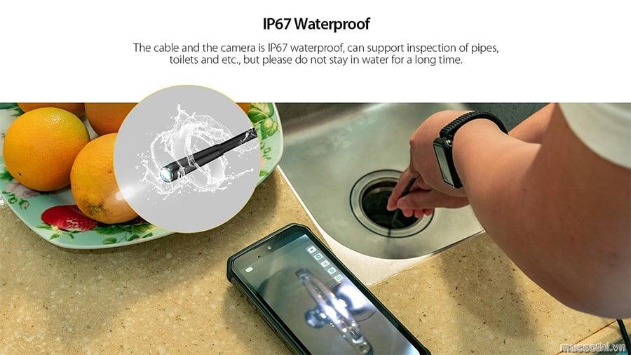 Smartphonestore.vn - Bán lẻ giá sỉ, online giá tốt phụ kiện camera nội soi Ulefone Endoscope E1 chính hãng - 09175.09195