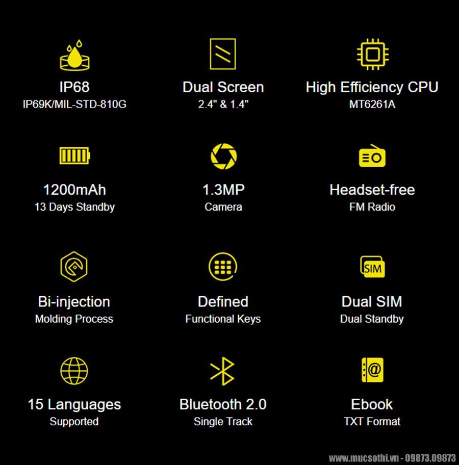 SmartPhoneStore.vn – Bán lẻ giá sỉ, online giá tốt điện thoại nắp gập siêu bền ulefone armor flip chính hãng – 09175.09195