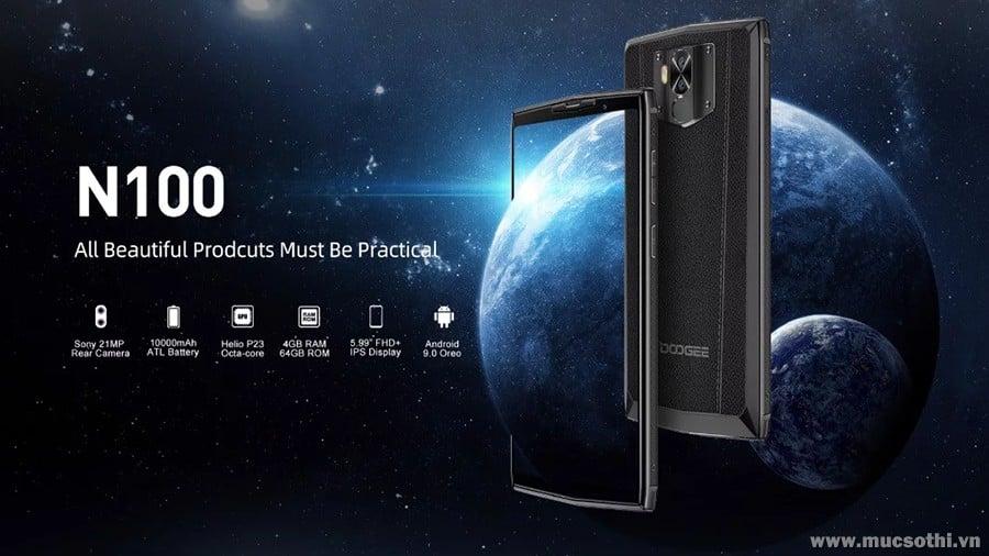 smartphonestore.vn - bán lẻ giá sỉ, online giá tốt điện thoại Doogee N100 chính hãng - 09175.09195