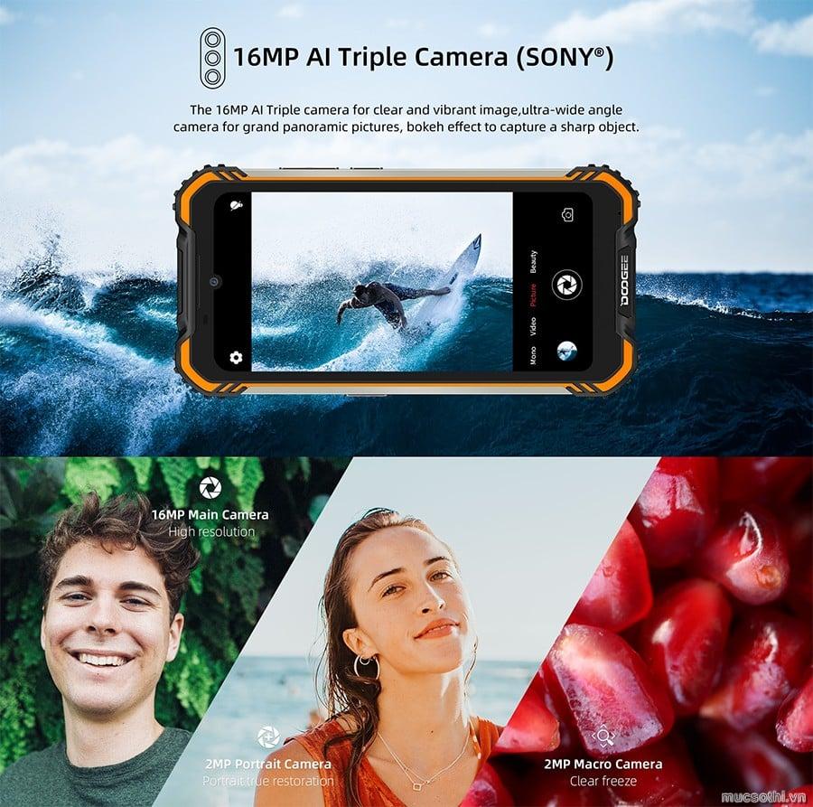 smartphonestore.vn - chuyên cung cấp smartphone pin khủng Doogee S58 Pro chính hãng - 09175.09195