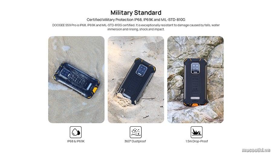 smartphonestore.vn - bán lẻ giá sỉ, online giá tốt smartphone siêu bền doogee s59pro pin khủng chính hãng - 09175.09195
