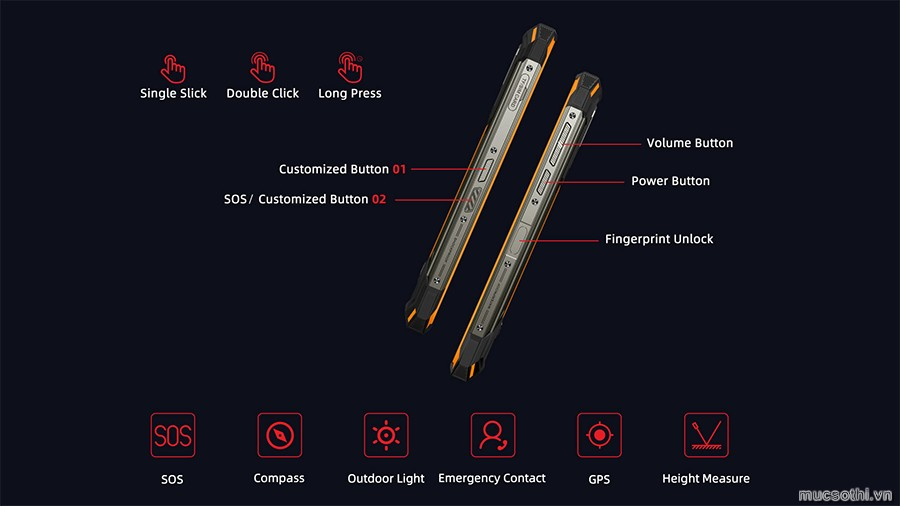 smartphonestore.vn - bán lẻ giá sỉ, online giá tốt smartphone siêu bền Doogee S88 pro pin khủng 10.000mAh chính hãng - 09175.09195
