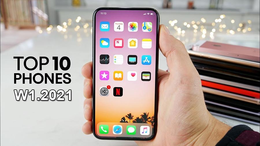 GsmArena công bố top 10 smartphone thịnh hành nhất tuần 1 năm 2021 - 09175.09195