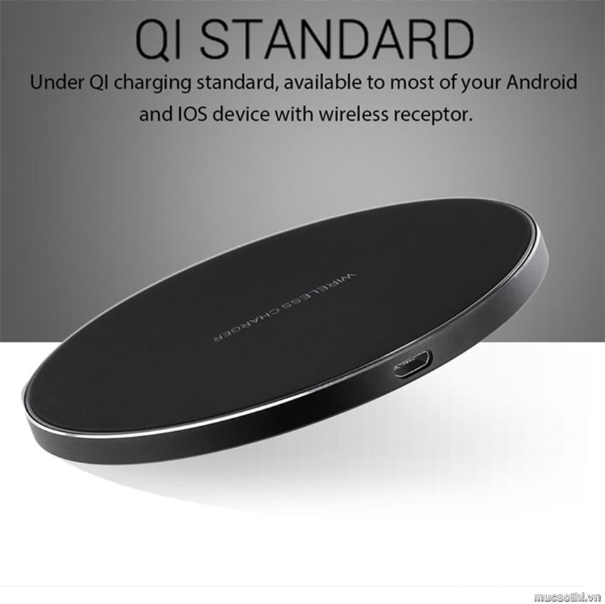 Smartphonestore.vn - Bán lẻ giá sỉ, online giá tốt đế sạc không dây siêu mỏng Doogee Wireless Charger chính hãng - 09175.09195