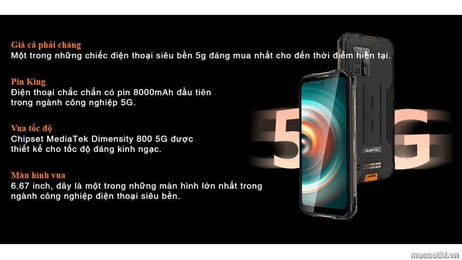 Smartphonestore.vn - Bán lẻ giá sỉ, online giá tốt smartphone siêu bền 5g oukitel wp10 chính hãng - 09175.09195