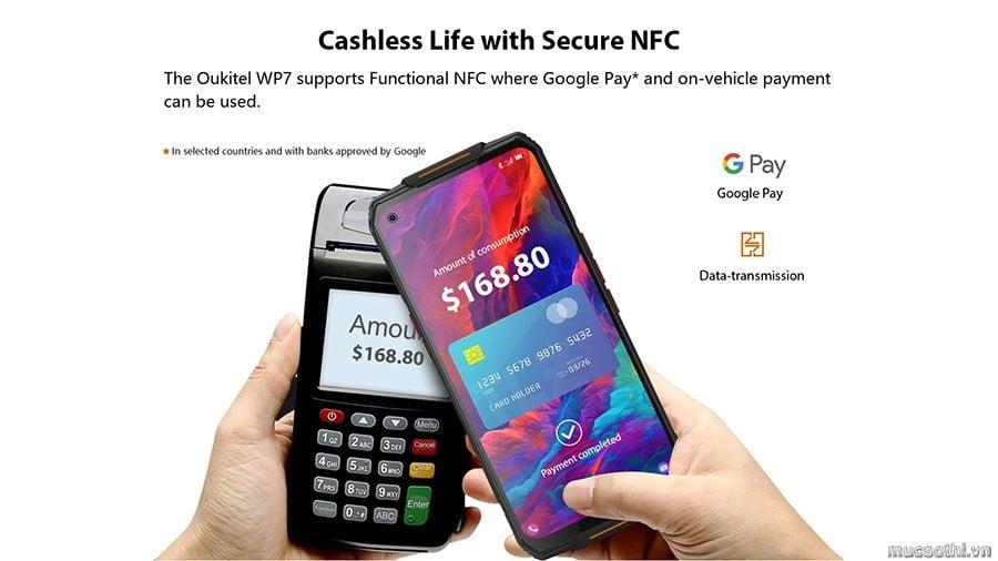 smartphonestore.vn - bán lẻ giá sỉ, online giá tốt smartphone diệt khuẩn siêu bền Oukitel WP7 pin khủng chính hãng - 09175.09195