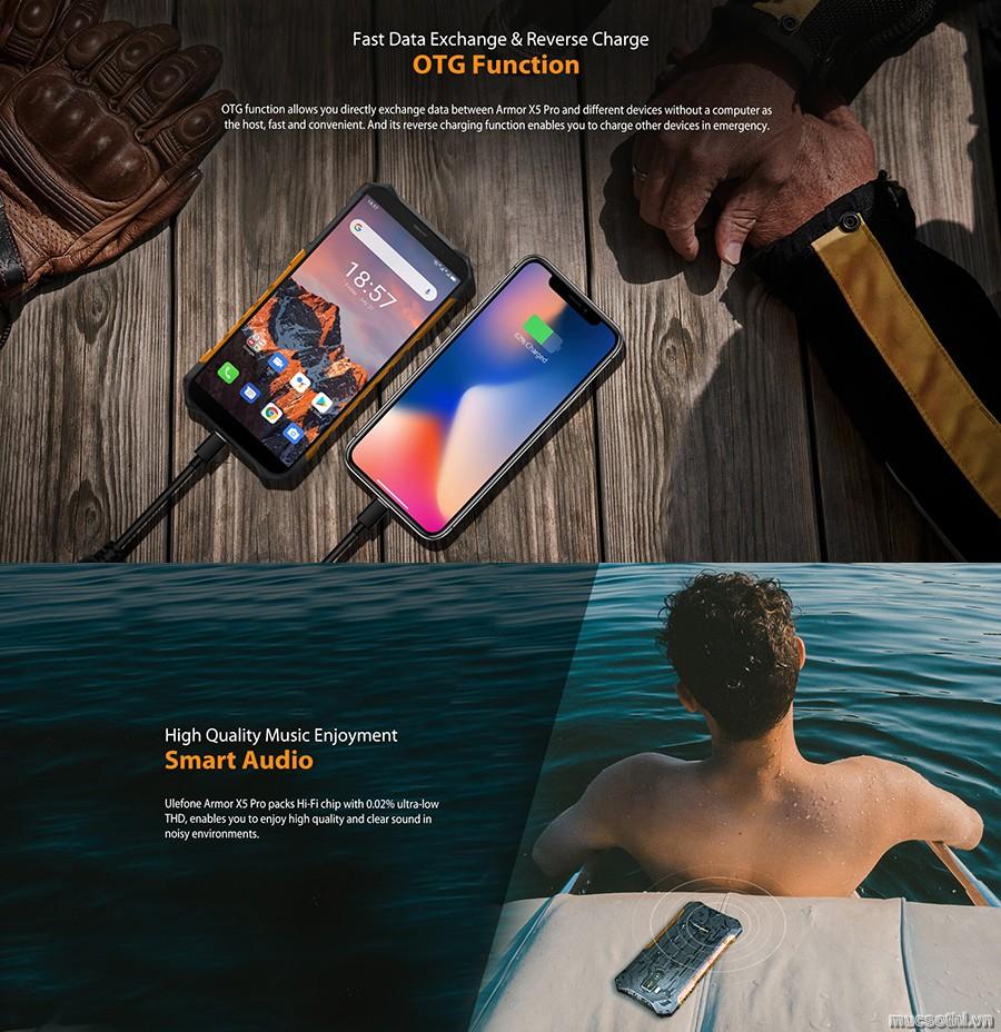 smartphonestore.vn - bán lẻ giá sỉ, online giá tốt ulefone armor x5pro chính hãng - 09175.09195