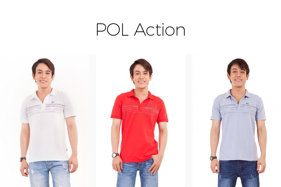 ÁO POLO NAM POL ACTION