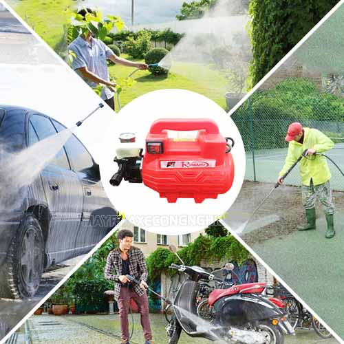Những loại máy rửa xe hiện có trên thị trường
