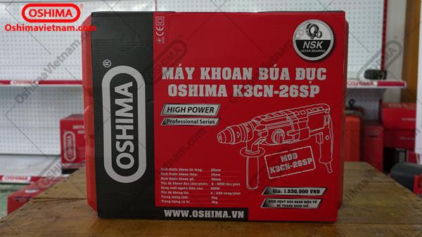 Máy khoan 3 chức năng OSHIMA K3CN26