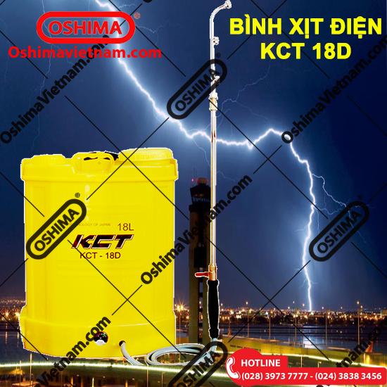 Bỉnh xịt điện KCT 18D