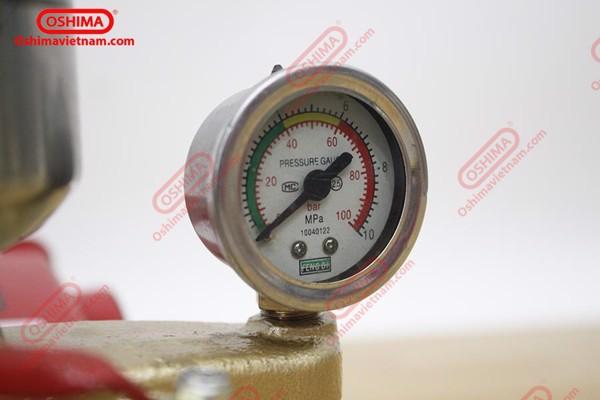 Đồng hồ đo áp lực của đầu xịt Oshima OS-26