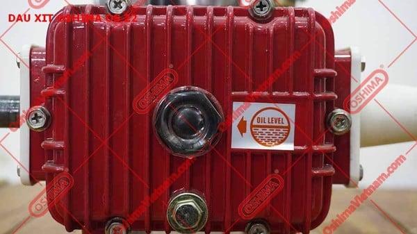 Mắt nhớt đầu xịt Oshima OS 22 đỏ