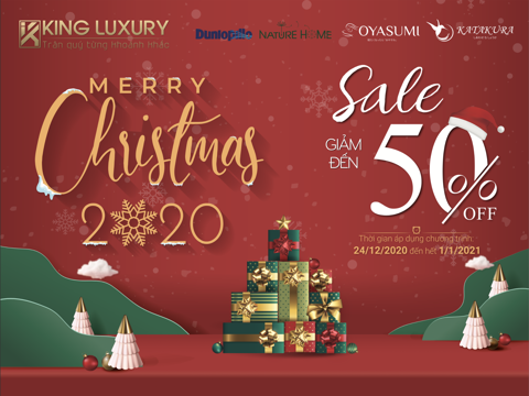MERRY CHRISTMAS 2020 - SALE 50%